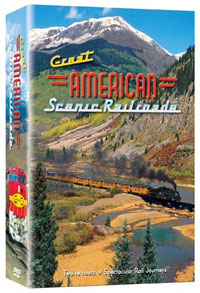 Great American Scenic Railroads DVD Set