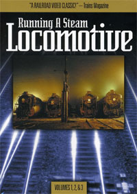 Running A Steam Locomotive 3-DVD Box Set
