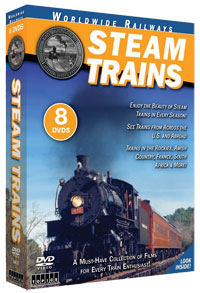 Steam Trains 8-DVD Box Set