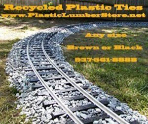 Recycled Plastic Railroad Ties