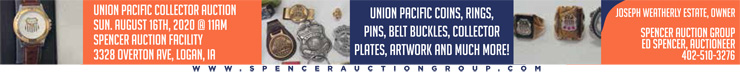Union Pacific Collector Auction
